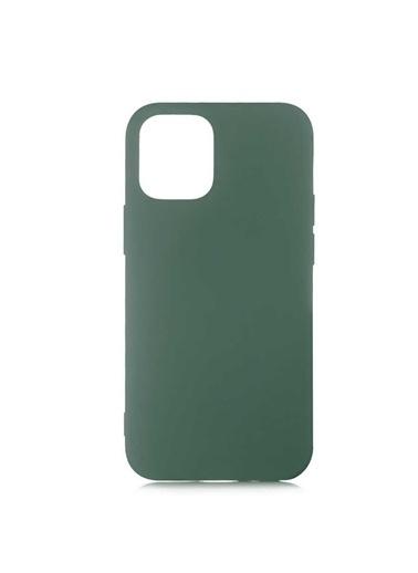 Bludfire Apple Iphone 12 Pro Lansman Koruma Kılıfı Silikon Koyu Yeşil Haki